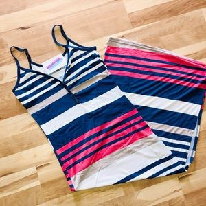 Dresses & Skirts - Stripes fashionable Maxi Dress